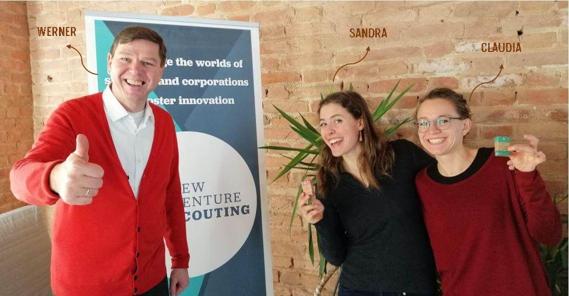 Dieses Bild zeigt Werner, Sandra und Claudia.